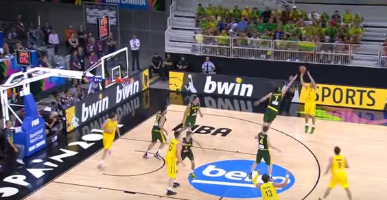 2014 FIBA World Cup: Australia SLOBs