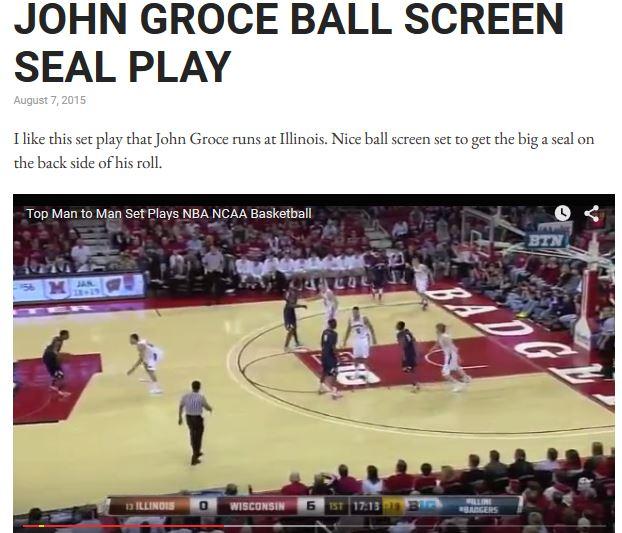 Coach John Groce