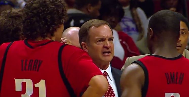 Lon Kruger Oklahoma Sooners High Ball-Screen Options