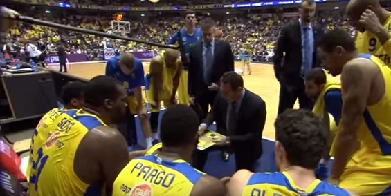 NABC International Update: Maccabi Tel Aviv Set Plays