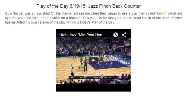 Utah Jazz Pinch Back Counter