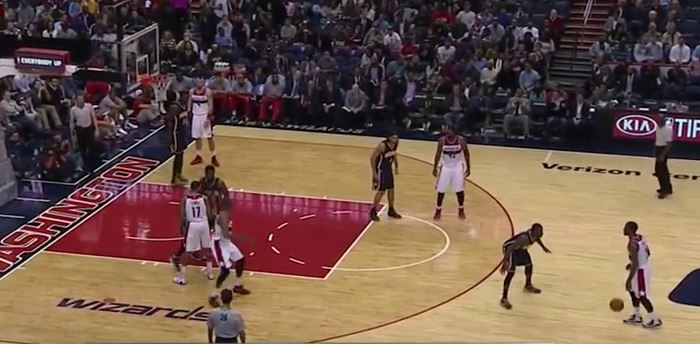 Washington Wizards 1-4 High Double Cross