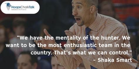Shaka Smart Quotes